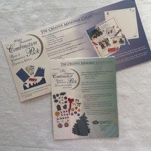 Creative Memories ~ 2 Mini Combo Decorative Packs